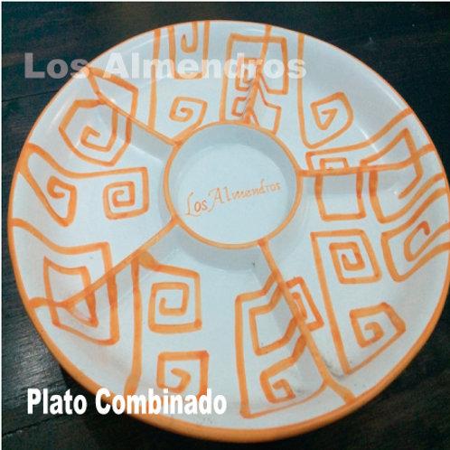 Plato Combinado Los Almendros Dividido en 4 1 Pieza