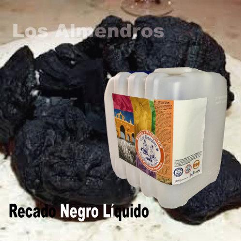 Recado Negro Liquido No Picante 4lt