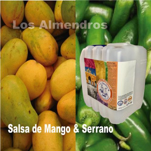 Salsa Mango Serrano 4lt