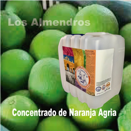 Concentrado Naranja Agria 4lt