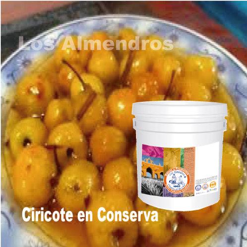 Ciricote En Conserva 4kg