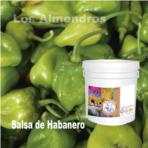 Salsa Chile Habanero 4lt