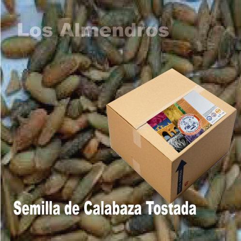 Semilla de Calabaza Tostada Caja 2.2Kg
