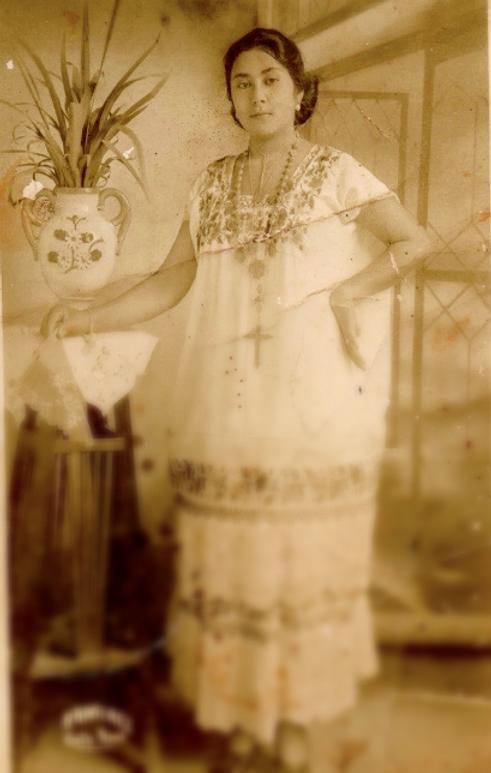 Mestiza Yucateca 1920