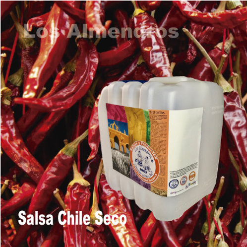 Salsa Chile De Arbol Seco 4lt