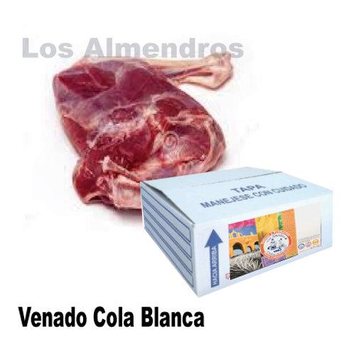 Venado Cola Blanca Con Hueso Granel 1kg