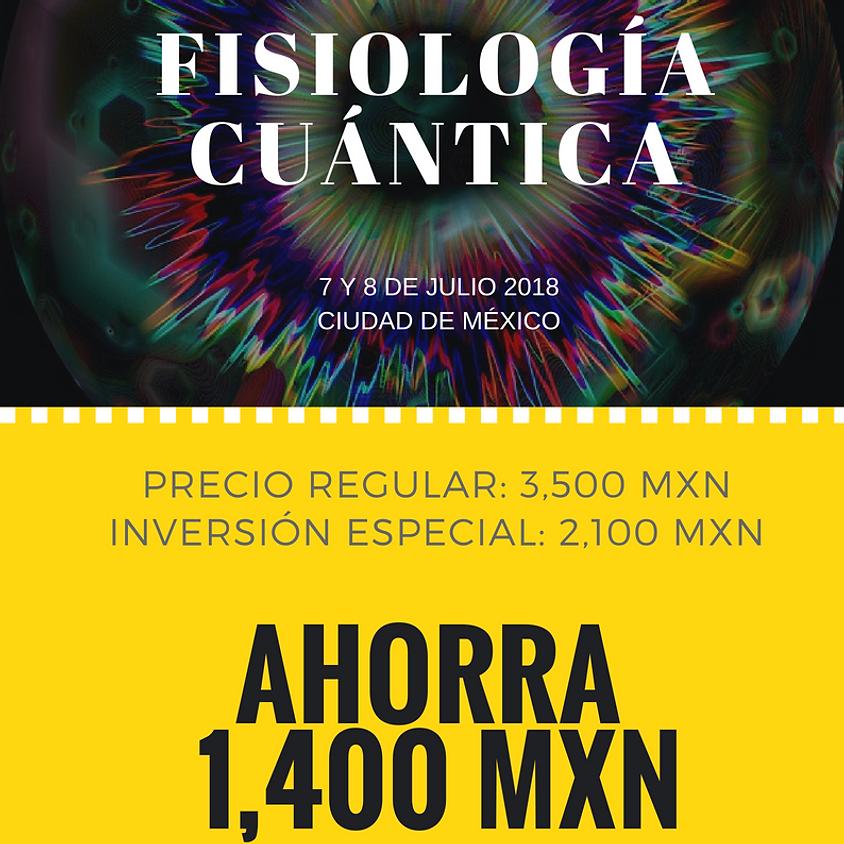 CUPÓN Fisiología Cuántica Presencial