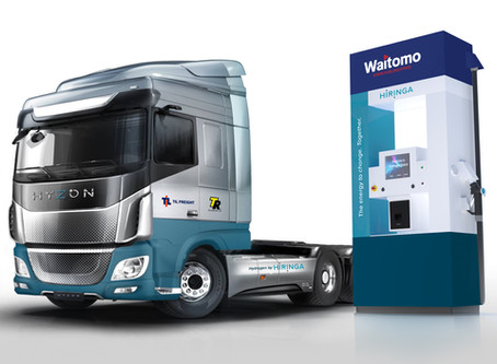 Hiringa Energy and HYZON Motors to Deploy Fuel Cell-Powered Heavy Trucks in New Zealand in 2021