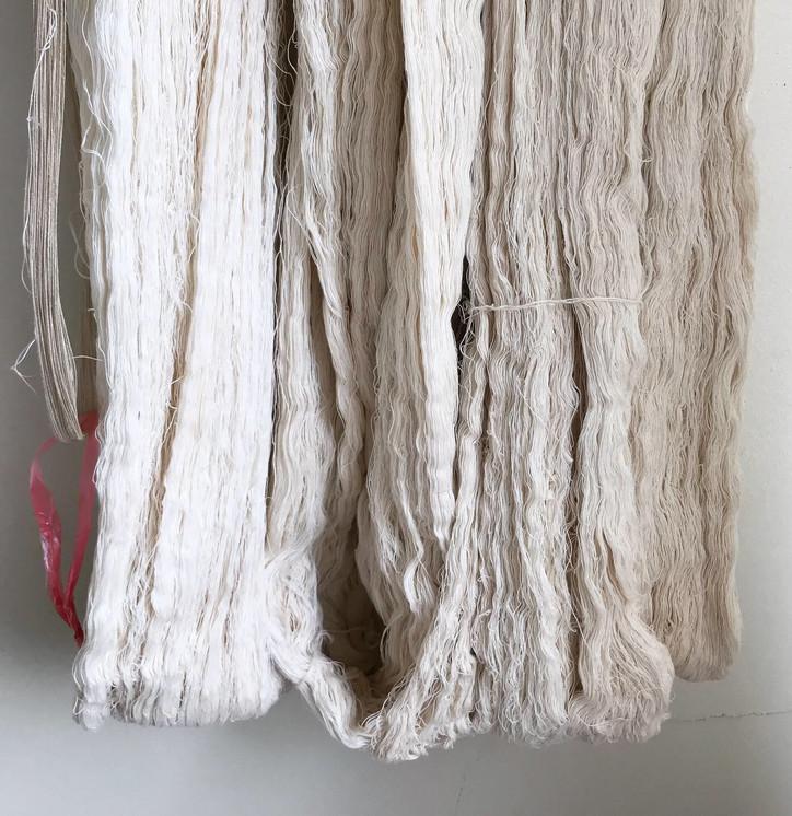 Organic cotton threads