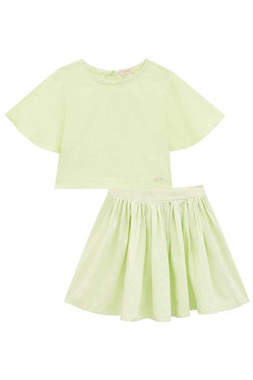Conjunto Viscose Verde
