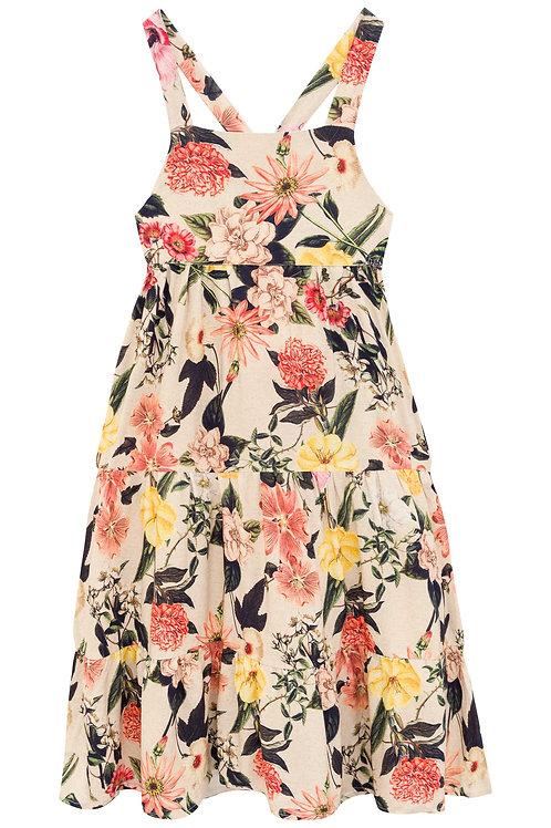 Vestido Midi Flora