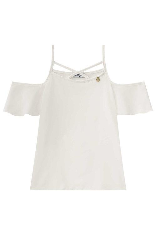 Blusa Off Shoulder Off White