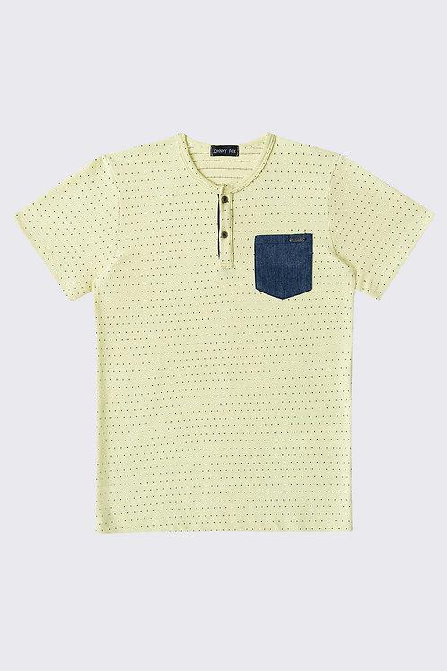 Blusa Amarela Bolso