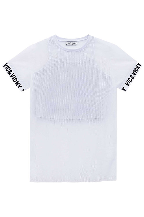 Blusa de Tela Branca