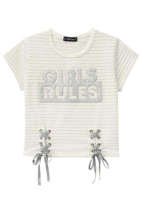 Camiseta Girls Rules