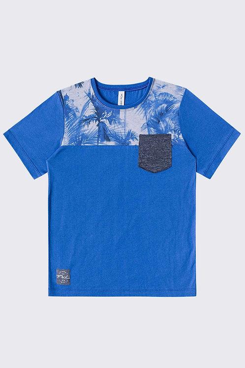 Blusa Palmeiras Azul