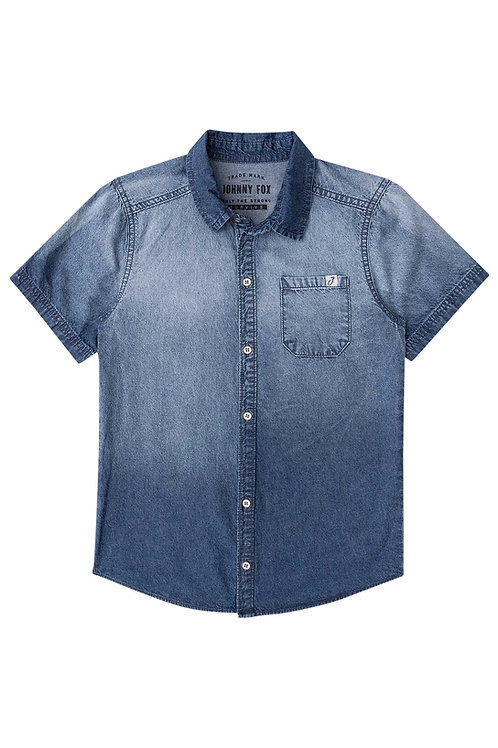 Camisa Jeans Lavada