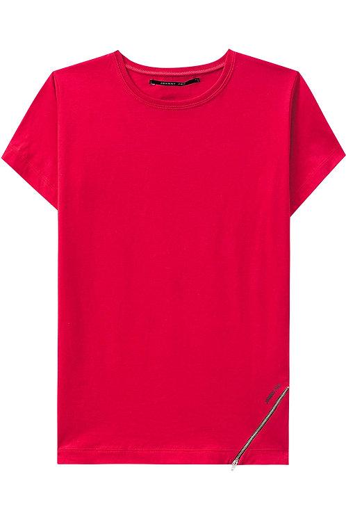 Blusa Vermelha Ziper