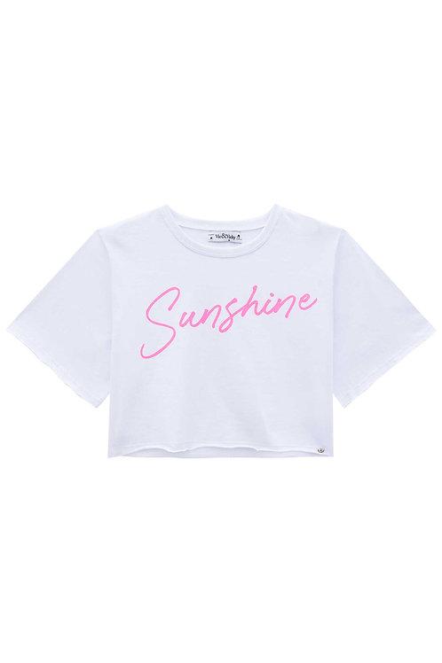 Cropped Sunshine Branco