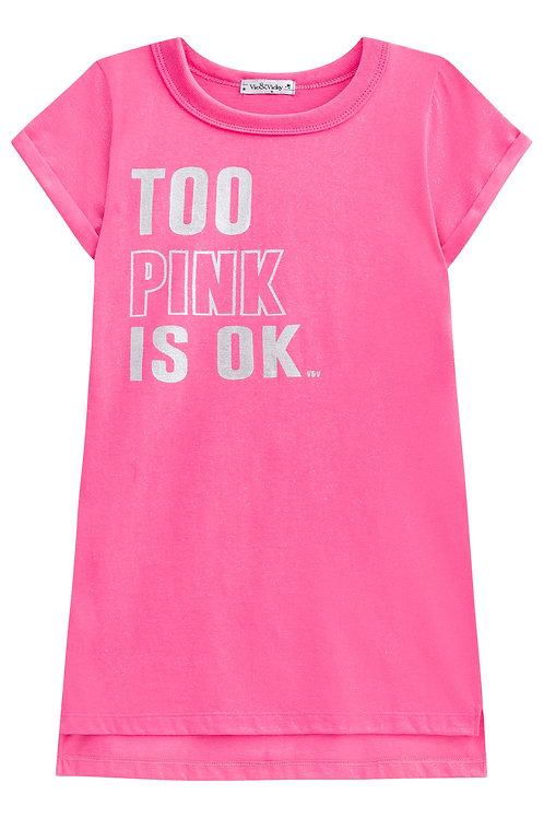 Vestido Too Pink