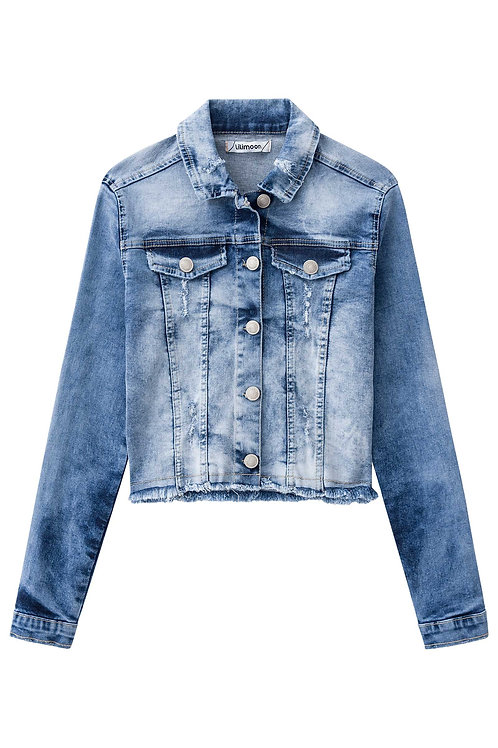 Jaqueta Jeans Happiness