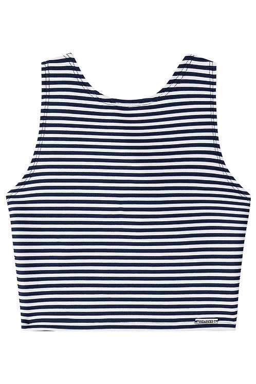 Cropped Listras Navy