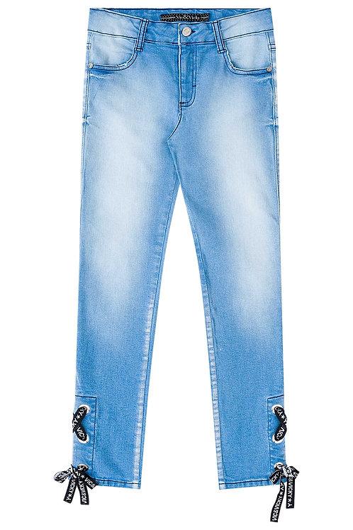 Calça Jeans Corda
