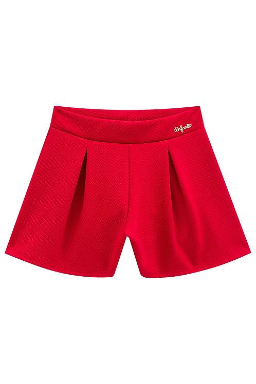 Short Malha Vermelho