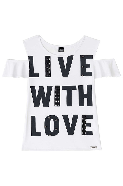 Blusa Live With Love