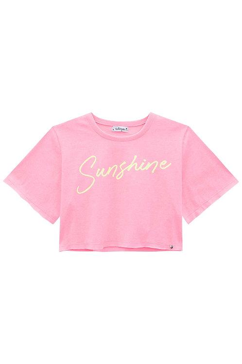 Cropped Rosa Sunshine