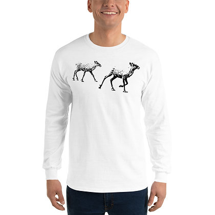 Men's Long Sleeve Shirt Reindeers