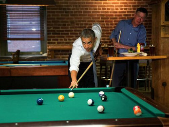 Should someone tell Obama he's still President?