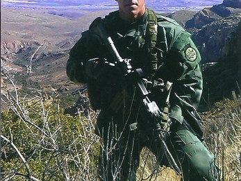 """""""If Today Is to Be the Day…So Be It"""" - Written by fallen Border Patrol Agent, Brian Terry"""
