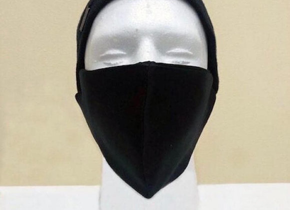 Black Face Mask - Item#JM02black