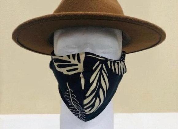 Black Palm Face Mask - Item#JM02F1