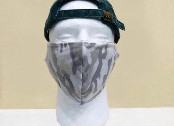 Ivory Camo Face Mask - Item#JM02C2