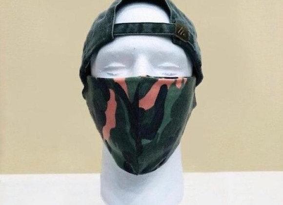 Green Camo Face Mask - Item#JM02C1