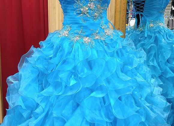 Turquiose Quinceanera Dress