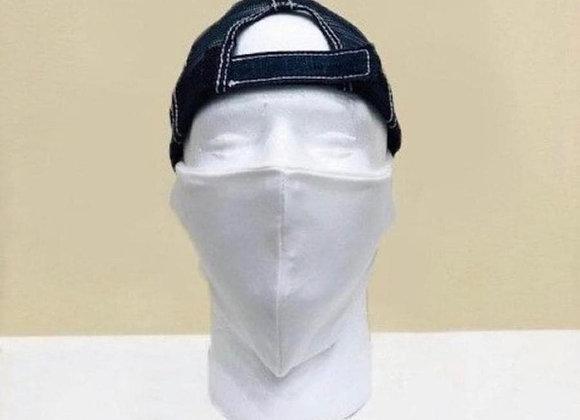 White Face Mask - Item#JM02white