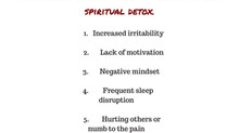 5 Important Signs Telling You It's Time For a Spiritual Detox