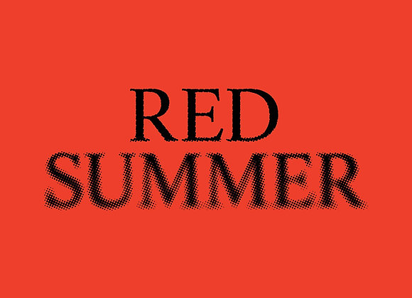 Red Summer Digital Zine