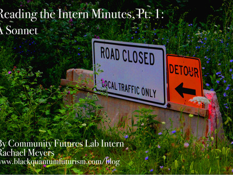 Reading the Intern Minutes, Part I: A Sonnet