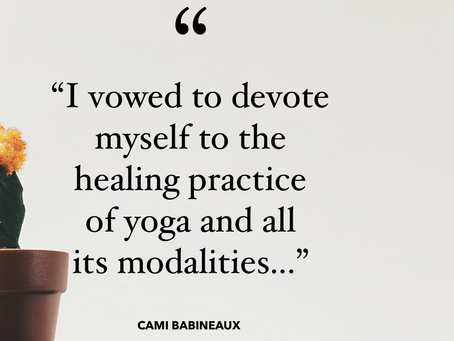 Metamorphosis, Guest Post by Cami Babineaux