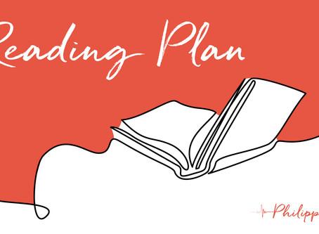 Philippians reading plans
