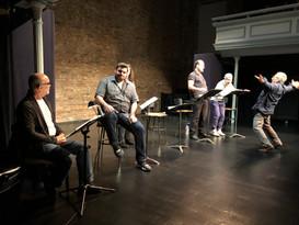 1-2-3 Manhunt reading at The Actors' Studio
