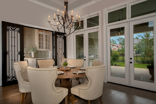 Carlton Woods Luxury Home Staging