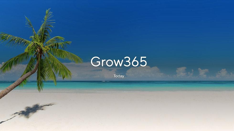 Grow365 Daily Bible Study