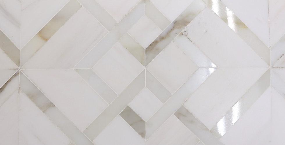 Shiraz 2: White Elegant Dolomite (Calacatta Gold)