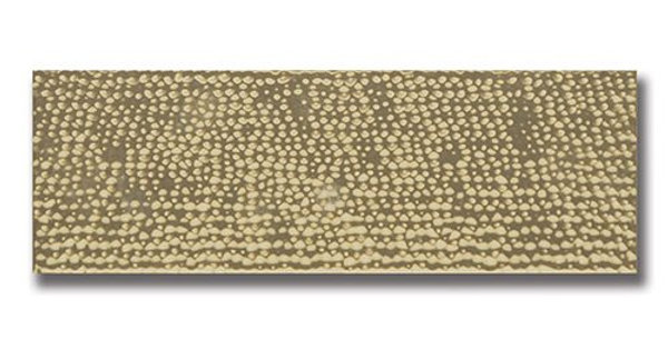"""Impressions 4""""x12"""" Gold Hammered"""