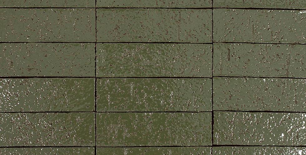 2x8 Glazed Brick Kelp 5615c